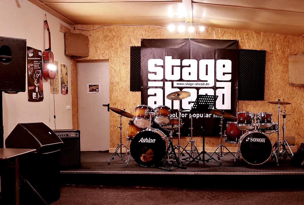 Stage Ahead Bandraum