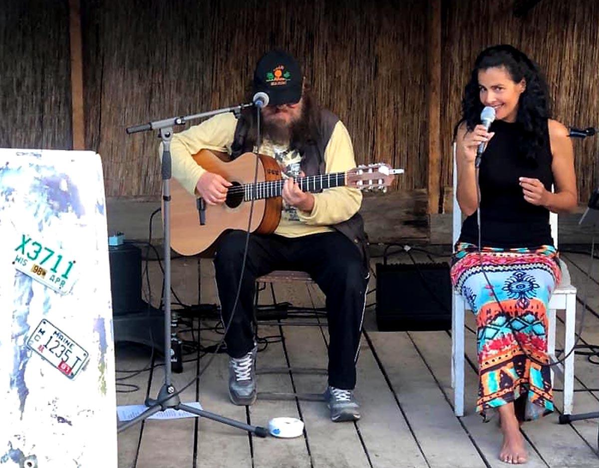 Udo Parker und Sheela live
